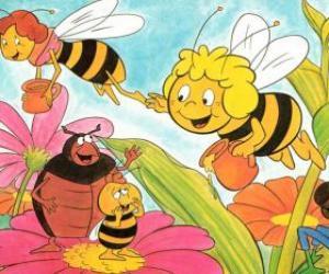Puzle Maya letěl společně s učitelem Cassandra nést sklenice medu každý, zatímco Wili pozdravit své přátele a Kurt