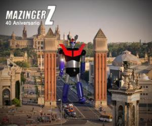 Puzle Mazinger z 40th anniversary (1972-2012)