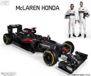 Puzle McLaren Honda 2016