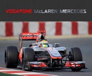 Puzle McLaren MP4-27 - 2012 -