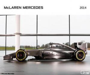 Puzle McLaren MP4-29 - 2014 -