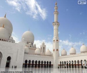 Puzle Mešita šejka Zayeda, Abú Dhabí