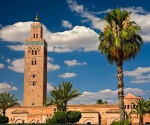 Puzle Mešita Koutoubia, Marrákeš, Maroko