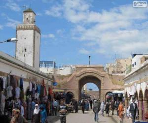 Puzle Medina Essaouira, Maroko