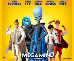 Puzle Megamysl hlavní postavy