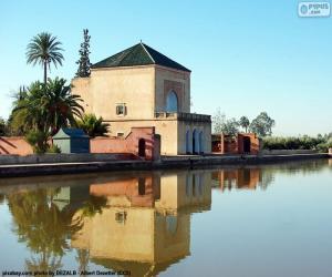Puzle Menara, Maroko