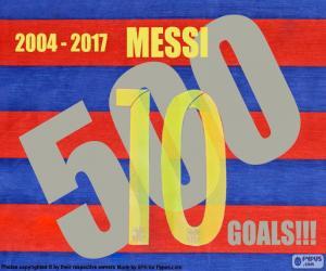 Puzle Messi 500 cíle