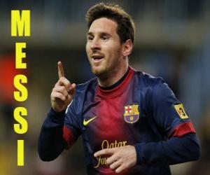 Puzle Messi