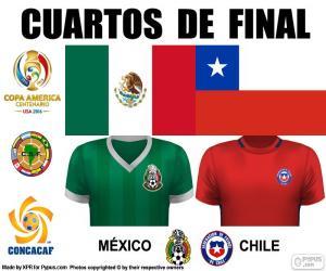 Puzle MEX - CHI, Copa America 2016