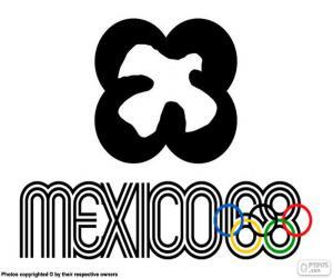 Puzle Mexiko 1968 olympijské hry