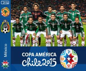 Puzle Mexiko Copa America 2015