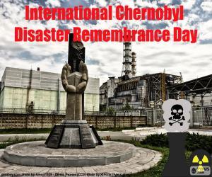Puzle Mezinárodní černobylské katastrofy Remembrance Day