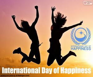 Puzle Mezinárodní den štěstí