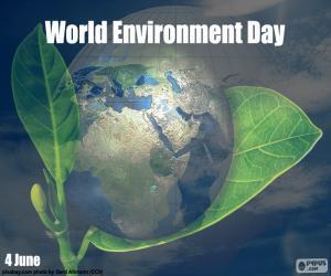 Puzle Mezinárodní den životního prostředí