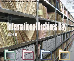 Puzle Mezinárodní den archivů
