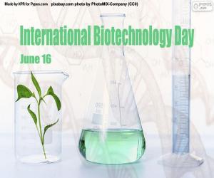 Puzle Mezinárodní den biotechnologií