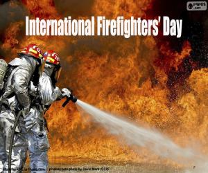 Puzle Mezinárodní den hasičů