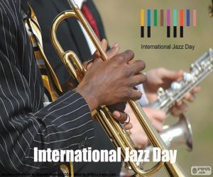Puzle Mezinárodní den jazzu