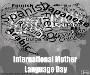 Puzle Mezinárodní den mateřského jazyka