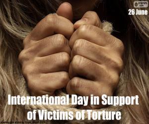 Puzle Mezinárodní den na podporu obětí mučení
