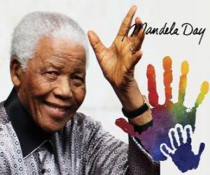 Puzle Mezinárodní den Nelson Mandela, 18. července