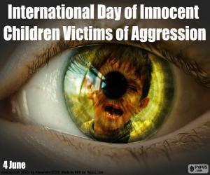 Puzle Mezinárodní den nevinných dětí obětí agrese