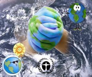 Puzle Mezinárodní den ochrany ozonové vrstvy 16. září