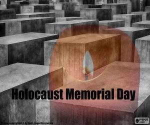 Puzle Mezinárodní den památky obětí holocaustu