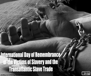 Puzle Mezinárodní den památky obětí otroctví a transatlantického obchodu s otroky