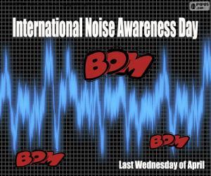Puzle Mezinárodní den povědomí o hluku