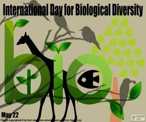 Puzle Mezinárodní den pro biologickou rozmanitost