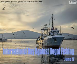 Puzle Mezinárodní den proti nezákonnému rybolovu