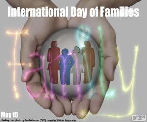 Puzle Mezinárodní den rodiny