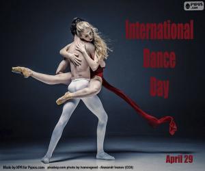 Puzle Mezinárodní den tance