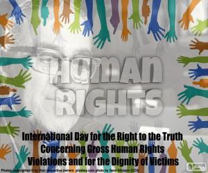 Puzle Mezinárodní den za právo na pravdu