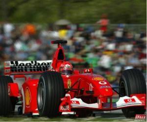 Puzle Michel Schumacher (Kaiser), jeho pilotování F1