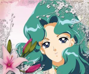 Puzle Michiru Kaioh stane Sailor Neptune