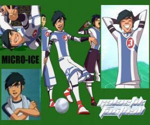 Puzle Micro-Ice je žolík týmu sněhu děti, má číslo 3