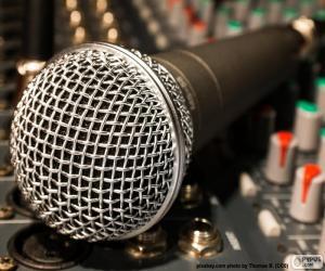 Puzle Mikrofon a směšovače