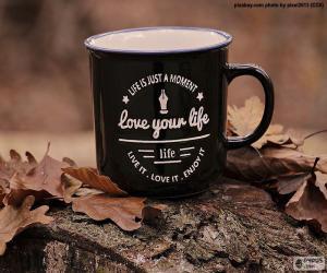 Puzle Miluji tvůj život