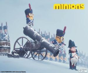 Puzle Mimoni a Napoleon