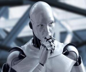Puzle Mimozemský robot