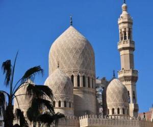 Puzle Minarety, věže mešity