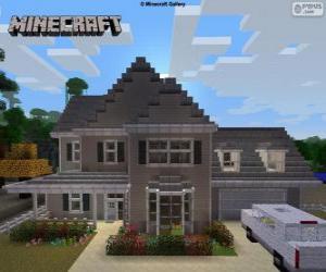 Puzle Minecraft House