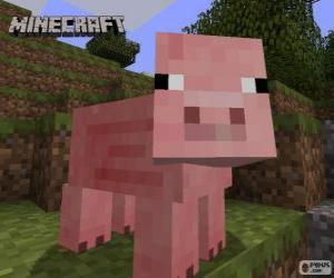 Puzle Minecraft prase