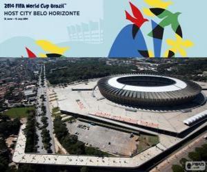 Puzle Mineirão Stadium (69.950), Belo Horizonte
