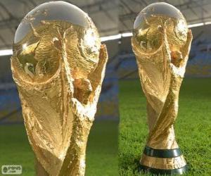 Puzle Mistrovství světa 2014 Brazílie trophy