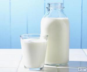 Puzle Mléko
