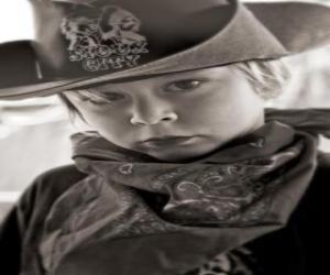 Puzle Mladí Cowboy