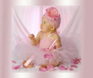 Puzle Mladý princezna